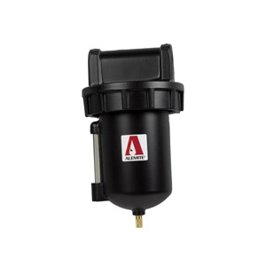 Alemite® 5612-2 Filter, 3/4 in Female NPTF Port, 250 psi Pressure Range, 270 cfm Flow Rate, 150 deg F, Metal Bowl
