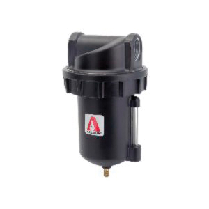 Alemite® 5616-2 Filter, 1 in Female NPTF Port, 250 psi Pressure Range, 350 cfm Flow Rate, 150 deg F, Metal Bowl