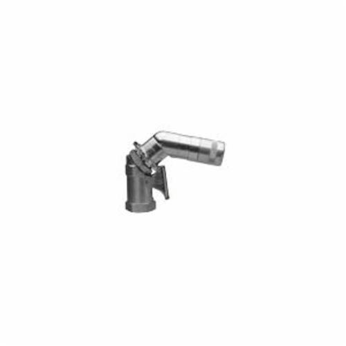 Alemite® 6509-D 360 deg Standard Hydraulic Swivel Coupler, 1/8 in Female NPTF Thread, 3-1/2 in OAL, Metal Seal/Steel, Zinc Clear