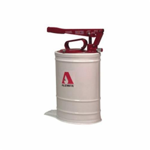 Alemite® 7149-A4 Multi-Pressure Bucket Pump, Oil, 5 gal Container, 0.33 oz/Stroke Output