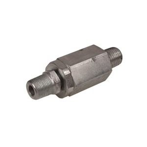 Alemite® B52750 High Pressure Straight Swivel, For Use With Grease Hose Reels, 1/4 in NPTF x 1/2-27, 10000 psi