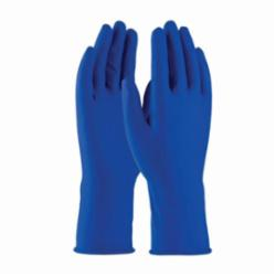 PIP® Ambi-Thix™ 62-327/XL Extra Thick Disposable Gloves, XL, Natural Rubber Latex, Blue, 11.8 in L, Powdered, Fully Textured, 13 mil THK, Application Type: Industrial Grade, Ambidextrous Hand