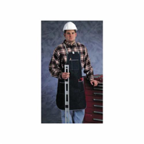Ansell 950323 CPP™ Heavy Duty Bib Apron, Denim, 3 ft L x 28 in W, Tie Closure, Resists: Abrasion