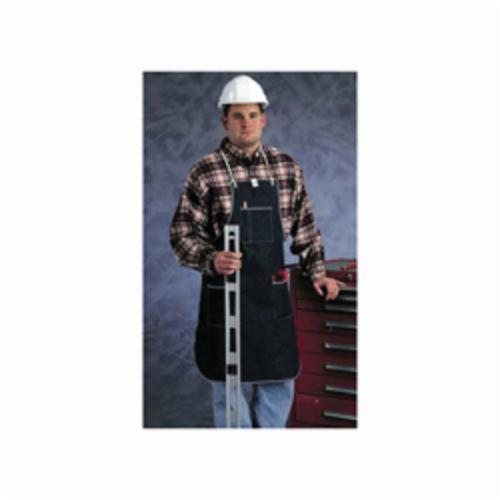 Ansell 950323 CPP™ Heavy Duty Bib Apron, Denim, 3 ft L x 28 in W, Tie Closure, Resists: Abrasion