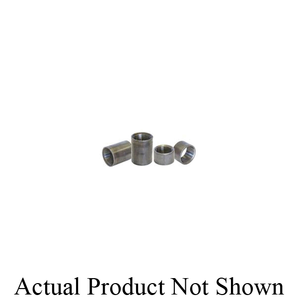 Beck® 0320200223 FIG 336 Pipe Coupling, Carbon Steel, 2-1/2 in Nominal, SCH 40/STD, FNPT End Style, Black Oxide