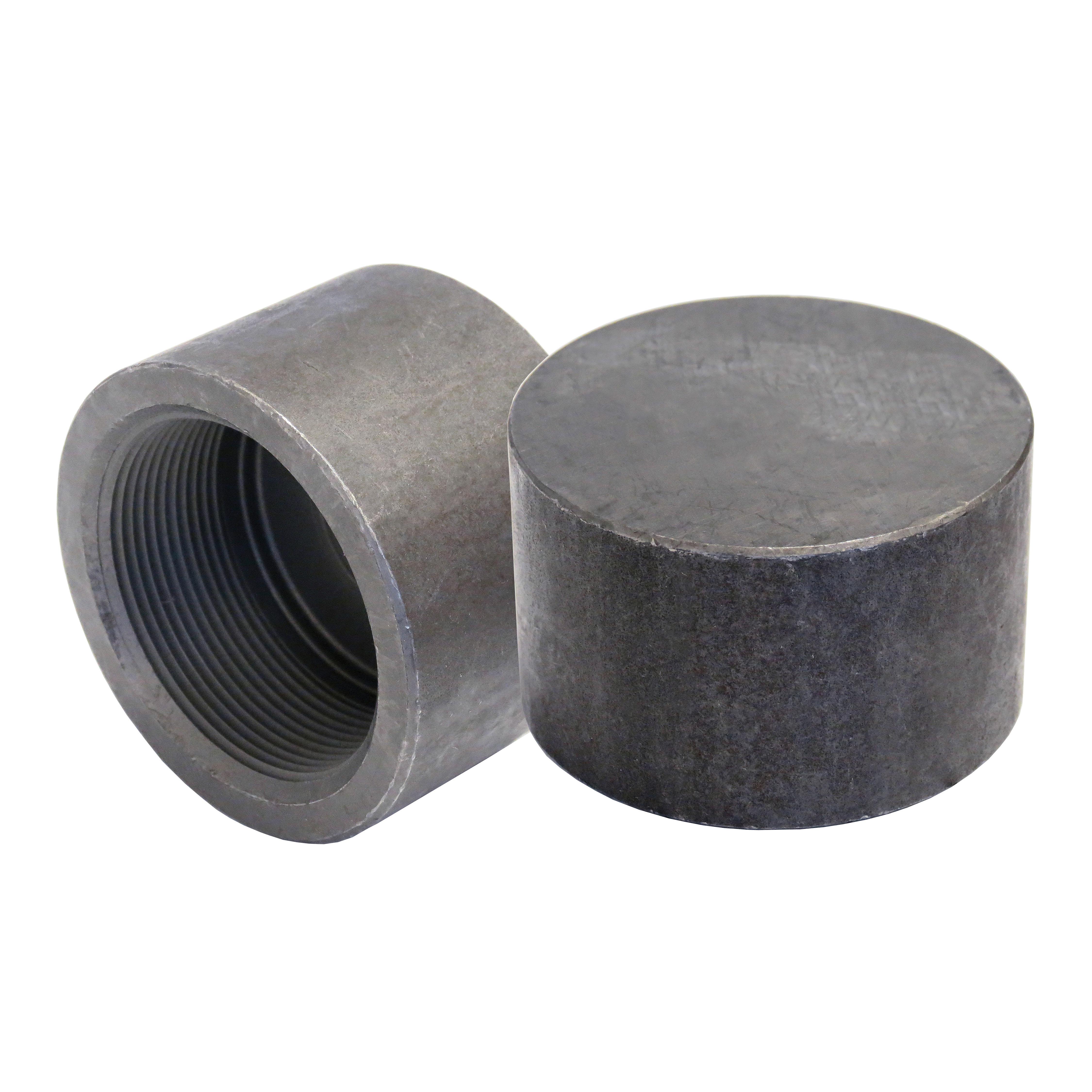 Anvil® 0361189608 FIG 2120 Pipe Cap, 2 in, NPT, 3000 lb, Steel, Black Oxide, Domestic