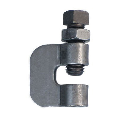Anvil® 0500009337 FIG 95 C-Clamp With Lock Nut, 3/8 in Rod, 230 lb Load, Carbon Steel, Plain