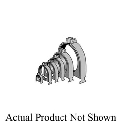 Anvil® Anvil-Strut™ 2400223695 FIG AS 004OD Cushion Clamp Assembly, Carbon Steel, Electro-Galvanized, Domestic