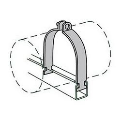 Anvil-Strut™ 2400326043 FIG AS 1100 Pipe Clamp, 3/4 in Nominal, 650 lb Load, 1.05 in OD, Steel, Domestic