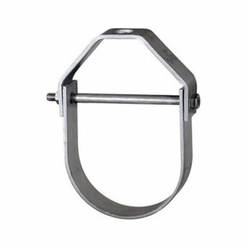 Anvil® 0500360144 FIG 260 Adjustable Clevis Hanger, 10 in Pipe, 7/8 in Rod, 3600 lb Load, Carbon Steel, Hot Dipped Galvanized