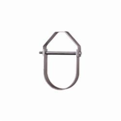 SPF/Anvil™ 0560005944 FIG 65 Adjustable Clevis Hanger, 1-1/4 in Pipe, 3/8 in Rod, 250 lb Load, Carbon Steel