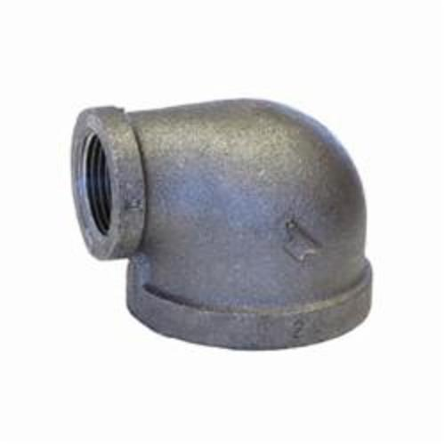 Anvil® 311006803 FIG 1101R Pipe Reducing 90 deg Elbow, 1/4 x 1/8 in, FNPT, 150 lb, Malleable Iron, Galvanized