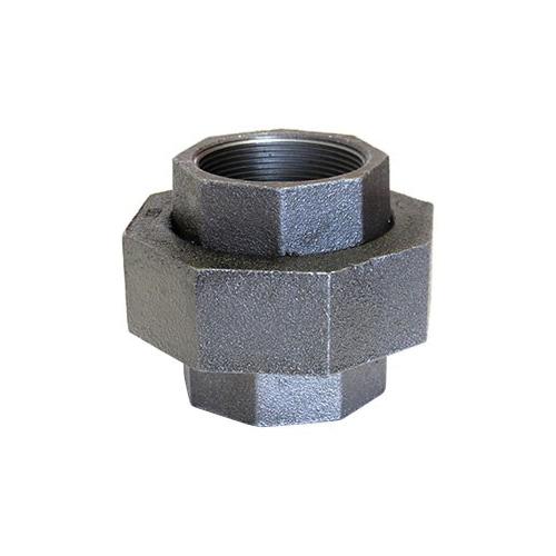 Anvil® 0312822646 FIG 459 Pipe Union, 3/8 in, FNPT, 300 lb, Malleable Iron, Black, Domestic