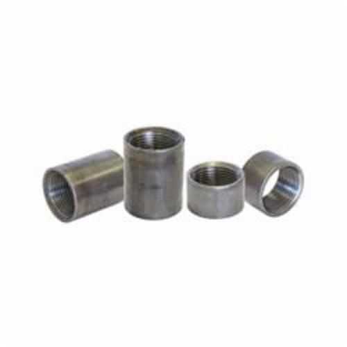 Beck® 0320200322 FIG 336 Standard Pipe Coupling, Carbon Steel, 6 in Nominal, SCH 40/STD, FNPT End Style, Black Oxide