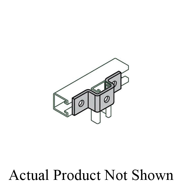 Anvil® Anvil-Strut™ 2400208308 FIG AS 613 U Support, 5-3/8 in L x 1-5/8 in W, For Use With FIG AS 500BTB Welded Channel/FIG AS 200/AS 210 and All Anvil® Anvil-Strut™ 1-5/8 in Wide Channels, Carbon Steel