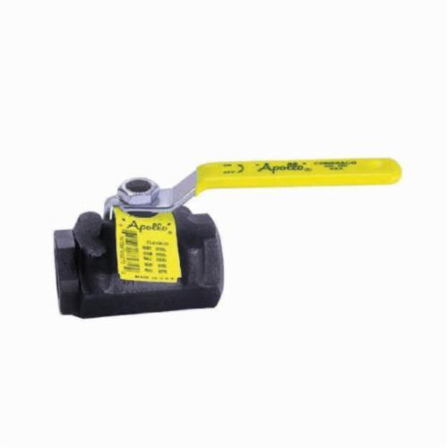 Apollo™ 73A-102-01-A 73A-100 2-Piece Ball Valve, 3/8 in, FNPT, Forged Carbon Steel Body, Standard Port, MPTFE Softgoods