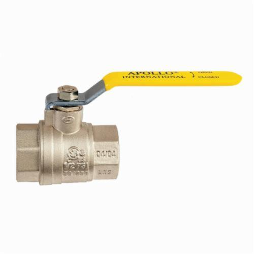 Apollo™ Apollo International™ 94A-104-01 2-Piece Ball Valve, 3/4 in, FNPT, Brass Body, Full Port, PTFE Softgoods
