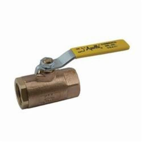 Apollo™ 70-102-27 70-100 2-Piece In-Line Ball Valve With Nut, 3/8 in Nominal, FNPT End Style, Bronze Body, Standard Port, PTFE Softgoods, Domestic
