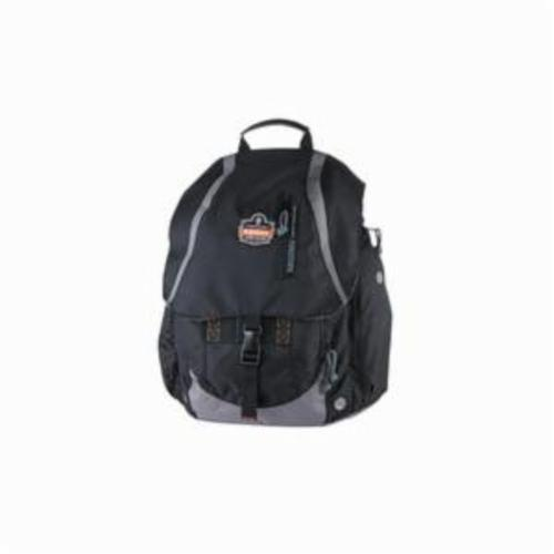 Arsenal® 13043 5143 General Duty Gear Backpack, Black, 600D Polyester, 2280 cu-in Storage, 19 in H x 8 in W x 15 in D