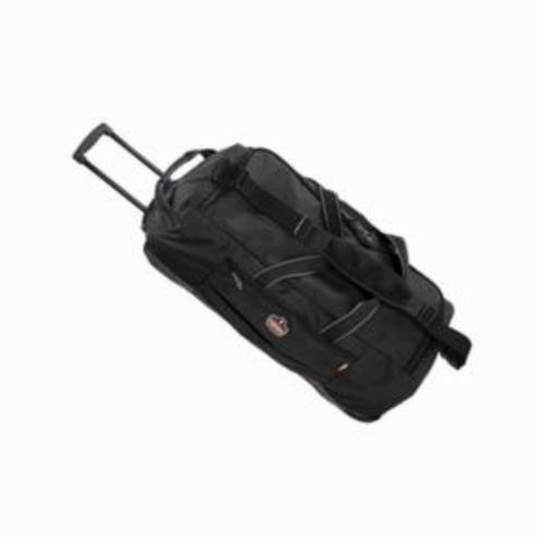 Arsenal® 13120 5120 Large Wheeled Gear Bag, Black, 1200D Polyester, 5687.5 cu-in Storage, 12-1/12 in H x 14 in W x 32-1/2 in D