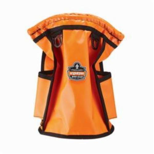 Arsenal® 13638 5538 Topped Parts Pouch, 20 lb, Tarpaulin, Orange
