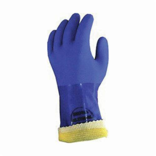 Atlas® by Showa Best KV660XL-10 Cut Resistant Gloves, XL/SZ 10, PVC Coating, PVC, Gauntlet Cuff, Resists: Chemical and Cut, ANSI Cut-Resistance Level: 3