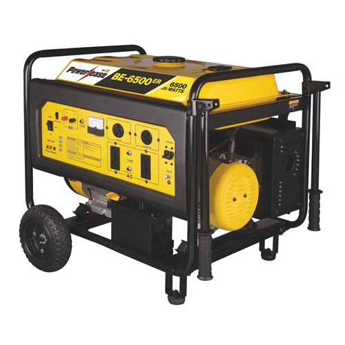 BE BE-6500ERUSC Generator, 6500 W, OHV Engine