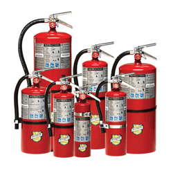 BUCKEYE FIRE EQUIPMENT 11340 Fire Extinguisher, Dry Chemical Extinguisher, Class: A/B/C, UL Rating: 4-A:80-B:C