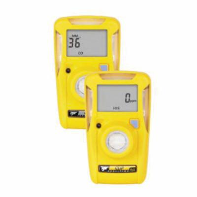 BW Technologies by Honeywell BWC2-H BW Clip Single Gas Detector, Hydrogen Sulfide, 0 to 100 ppm Range, 95 dB Visual/Vibrating/Audible Alarm, Lithium Battery