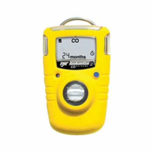 BW Technologies by Honeywell GA24XT-S GasAlertClip Extreme Single Gas Detector, Sulfur Dioxide Gas, 0 to 100 ppm Detection, Audible/Vibration/Visual Alarm