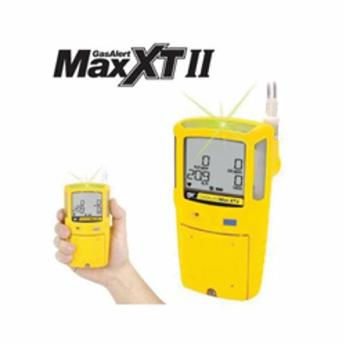 BW Technologies by Honeywell XT-XWHM-Y-NA GasAlertMax XT II Multi-Gas Detector, Carbon Monoxide, Hydrogen Sulfide, LEL, Oxygen Gas, Audible/Vibration/Visual Alarm, Lithium-ion Polymer Battery
