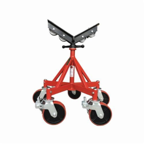B&B Pipe and Industrial Tools 3510 Five Leg Giant Jack with Steel Wheels and Casters, Upto 32 in Pipe, 2500 lb Load