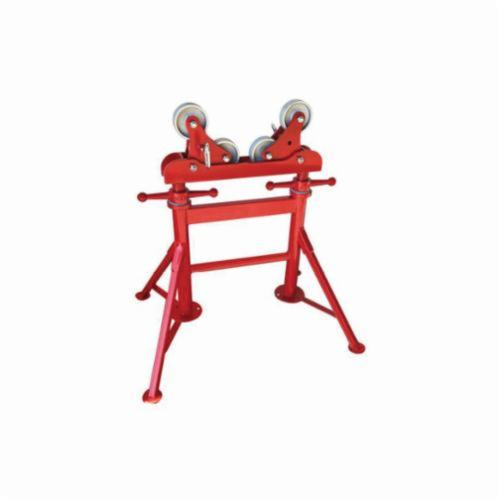 B&B Pipe and Industrial Tools 4375 Height Adjustable Multi Roller with Steel Wheel, 2 to 36 in Pipe, 3000 lb Load
