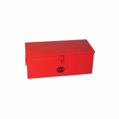 B&B Pipe and Industrial Tools 7728 Tool Storage Box, 11 in x 32 in W x 12 in D, Steel