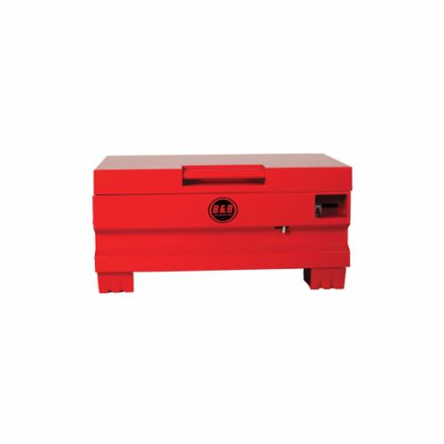 B&B Pipe and Industrial Tools 7732 Tool Storage Box, 16 in x 32 in W x 18 in D, Steel