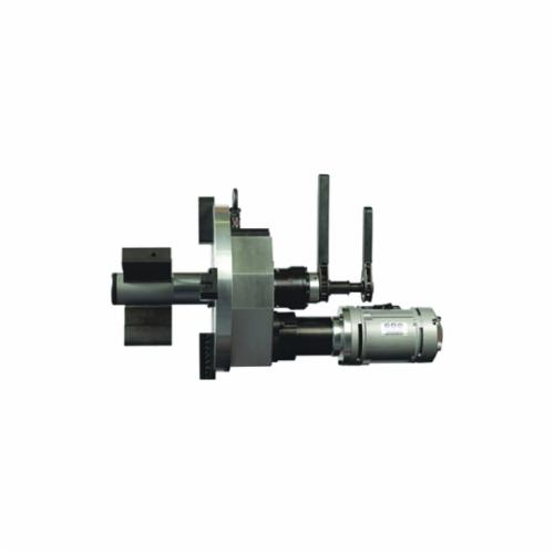 B&B Pipe and Industrial Tools 8055-PNEU PREP 16 Heavy Duty Pipe Beveling Machine, 3 to 16 in Pipe, Pneumatic Motor, Alloy Steel Body, 110/220 VAC, 11 to 21 rpm