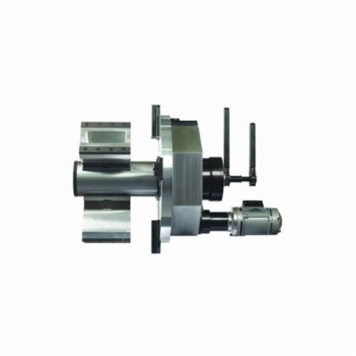 B&B Pipe and Industrial Tools 8057-PNEU PREP 24 Heavy Duty Pipe Beveling Machine, 7 to 24 in Pipe, Pneumatic Motor, Alloy Steel Body, 110 VAC, 5 rpm