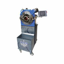 B&B Pipe and Industrial Tools EZFAB12CB EZ Fab Pipe Cutting and Beveling Machine, 6 to 12 in Pipe, 1 to 40 mm THK Pipe Wall, NC Control Motor
