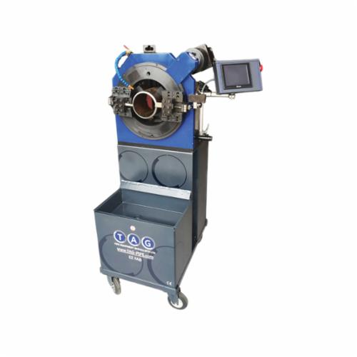 B&B Pipe and Industrial Tools EZFAB20CB EZ Fab Pipe Cutting and Beveling Machine, 14 to 20 in Pipe, 1 to 40 mm THK Pipe Wall, NC Control Motor