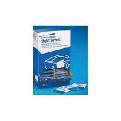Bausch Lomb Sight Savers 8574GM Pre-Moistened Lens Cleaning Tissue, 5 x 8 in Tissue, 100 Tissue, Corrugated Cardboard