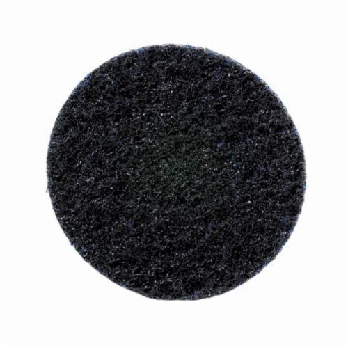Norton® Bear-Tex® Rapid Prep™ 66254482337 Non-Woven Abrasive Quick-Change Disc, 2 in Dia, 120 Grit, Very Fine Grade, Aluminum Oxide Abrasive, Type TS (Type II) Attachment