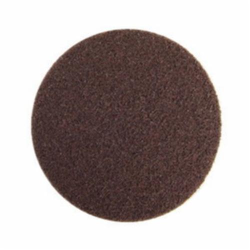Norton® Bear-Tex® Rapid Prep™ 66261006911 Non-Woven Abrasive Hook and Loop Disc, 6 in Dia, 120 Grit, Medium Grade, Aluminum Oxide Abrasive, Nylon Backing