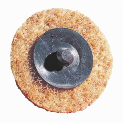 Norton® Rapid Prep™ 66261004437 Non-Woven Abrasive Quick-Change Disc, 2 in Dia, Coarse Grade, Aluminum Oxide Abrasive, Type TR (Type III) Attachment