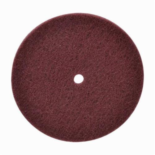 Norton® High Strength 66261004980 Non-Woven Abrasive Disc, 6 in Dia, 240/360 Grit, Very Fine Grade, Aluminum Oxide Abrasive
