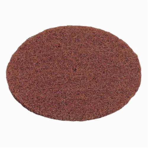 Norton® High Strength 66261005073 Non-Woven Abrasive Disc, 6 in Dia, 100/150 Grit, Medium Grade, Aluminum Oxide Abrasive