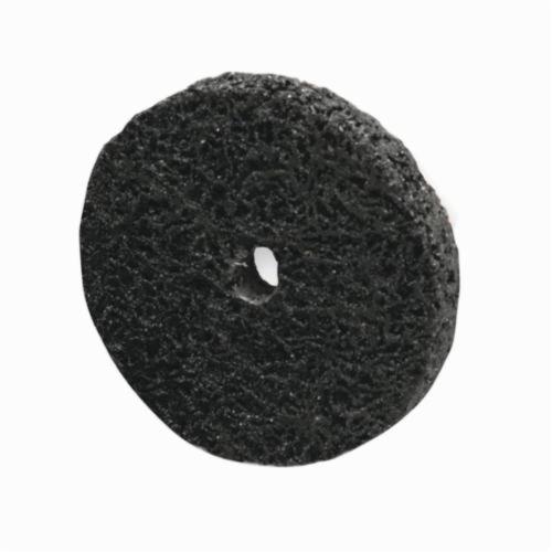 Norton® Rapid Strip™ 66261007916 Non-Woven Abrasive Wheel, 4 in Dia, 1/2 in Center Hole, Extra Coarse Grade, Silicon Carbide Abrasive