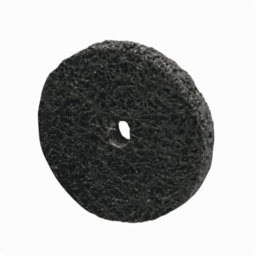 Norton® Rapid Strip™ 66261008008 Non-Woven Abrasive Wheel, 4 in Dia, 1/4 in Center Hole, Extra Coarse Grade, Silicon Carbide Abrasive