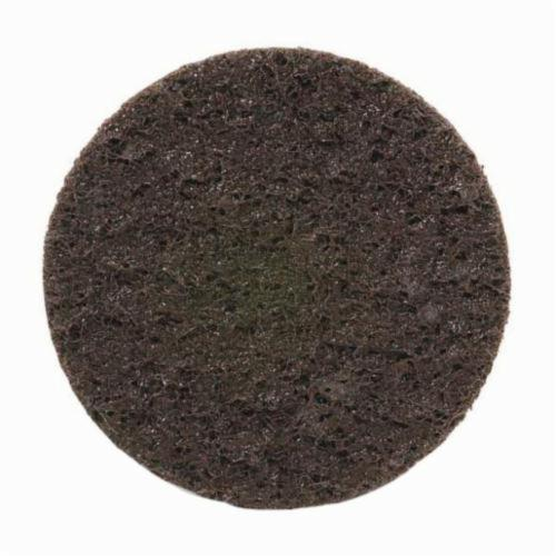 Norton® Rapid Prep™ 66261009183 Non-Woven Abrasive Quick-Change Disc, 2 in Dia, 80 Grit, Coarse Grade, Aluminum Oxide Abrasive, Type TS (Type II) Attachment