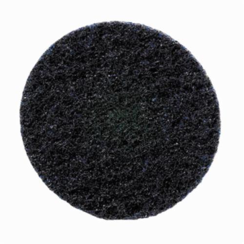 Norton® Bear-Tex® Rapid Prep™ 66261009184 Non-Woven Abrasive Quick-Change Disc, 3 in Dia, 320 Grit, Very Fine Grade, Aluminum Oxide Abrasive, Type TS (Type II) Attachment