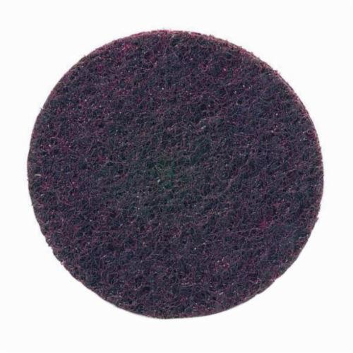 Norton® Rapid Prep™ 66261009185 Non-Woven Abrasive Quick-Change Disc, 3 in Dia, 120 Grit, Medium Grade, Aluminum Oxide Abrasive, Type TS (Type II) Attachment